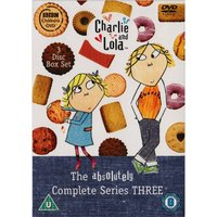 Charlie And Lola - The Absolutely Complete Series 3 Box Set DVD