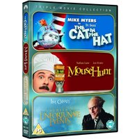Cat in the Hat / Mouse Hunt / Series of Unfortunate Events Triple Pack DVD