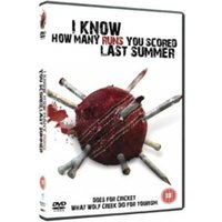 I Know How Many Runs You Scored Last Summer DVD