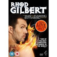 Rhod Gilbert The Man With The Flaming Battenberg Tattoo DVD