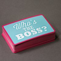 Thumbs Up! Whos The Boss Quiz