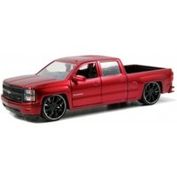 2014 Chevy Silverado / M8 Custom Wheel 1:24 Model Kit