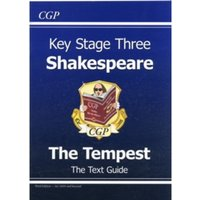 KS3 English Shakespeare Text Guide - The Tempest by CGP Books (Paperback, 2008)