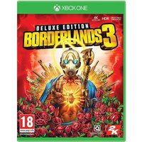 Borderlands 3 Deluxe Edition Xbox One Game (Gold Weapon Skins & Trinket DLC)