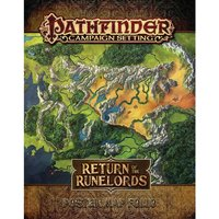 Pathfinder Campaign Setting Return of the Runelords Poster Map Folio
