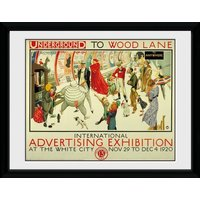 Transport For London Advertising Expo Framed Collector Print