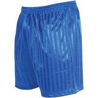 Precision Striped Continental Football Shorts 26-28 inch Royal Blue
