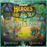 Heroes of Land, Air & Sea Pestilence Board Game Expansion
