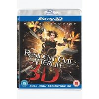 Resident Evil Afterlife 3D Blu-Ray