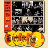Various Artists - They All Played For Us: Arhoolie Records 50th Anniversary Celebration (4CD + BK)