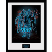 Ready Player One The High Five Framed Collector Print