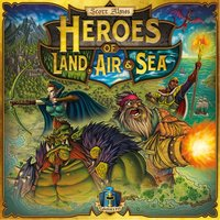 Heroes of Land, Air & Sea: Merc Pack 3 Expansion