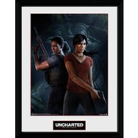 Uncharted The Lost Legacy Cover Framed Collector Print