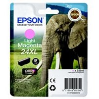 Epson C13T24364012 (24XL) Ink cartridge bright magenta, 500 pages, 10ml