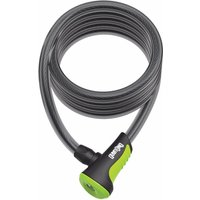 OnGuard Neon Cable Lock Green 1200 x 12mm