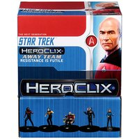 Star Trek HeroClix Away Team: The Next Generation - To Boldly Go... Gravity Feed (24 Packs)