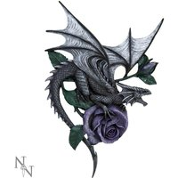 Dragon Beauty Wall Plaque
