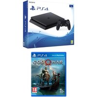 PlayStation 4 Slim E-Chassis (1TB) Black Console + God of War