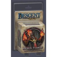 Descent Journeys in the Dark Second Edition Merick Farrow Lieutenant Expansion Pack Board Game