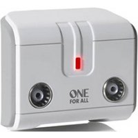 One for All 2 Way TV Signal Booster/Splitter