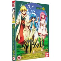 Magi The Labyrinth of Magic Season 1 Part 1 DVD