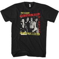 The Clash - Kanji Men's Small T-Shirt - Black