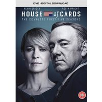 House of Cards: Seasons 1-5 DVD