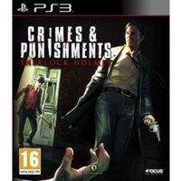 Crimes and Punishments Sherlock Holmes PS3 Game