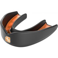 Shockdoctor Ultra Rugby Mouthguard Youths Black/Orange