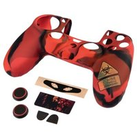 """Hama 7-In-1 Undead"""" Accessories Set for the Dualshock 4 Controller PS4/Slim/Pro"""