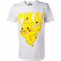 Pokemon Pikachu Pika! Raised Print Mens XX-Large T-Shirt