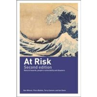 At Risk : Natural Hazards, People's Vulnerability and Disasters