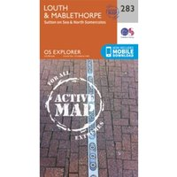 Louth and Mablethorpe by Ordnance Survey (Sheet map, folded, 2015)