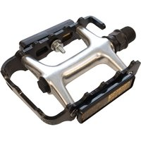 ETC Alloy Cromo Sealed MTB Pedals Black 9/16
