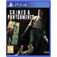 Crimes and Punishments Sherlock Holmes PS4 Game