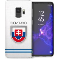 CASEFLEX SAMSUNG GALAXY S9 SLOVAKIA WORLD CUP CASE / COVER (3D)