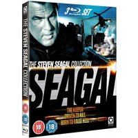 Steven Seagal Collection Driven to Kill The Keeper Born to Raise Hell Blu-ray