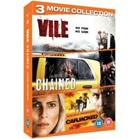 Abduction Triple Pack Vile / Chained / Carjacked DVD
