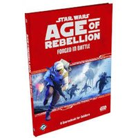 Star Wars Age of Rebellion Forged in Battle: A Sourcebook for Soldiers Board Game