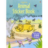 Animal Sticker Book with Stickers by Usborne Publishing Ltd (Paperback, 2009)