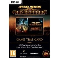 Star Wars The Old Republic Time Card 60 Day Game