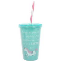 Time to be a Unicorn Drinking Cup Pack Of 6