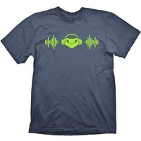 Overeatch Mens Lucios Beat Charcoal X-Large T-Shirt