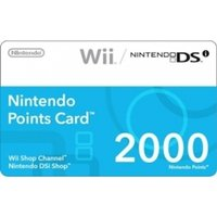 Ex-Display 2000 Points Card Wii Used - Like New