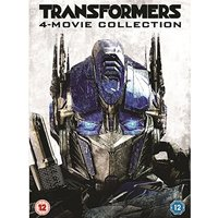 Transformers 4 Movie Collection DVD