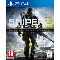 Sniper Ghost Warrior 3 Season Pass Edition PS4 Game (+ Model Sniper Rifle and DLC)