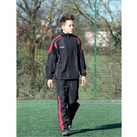 Precision Ultimate Tracksuit Jacket Black/Red/Silver 38-40
