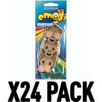 Fresh Linen Monkeys (Pack Of 24) Emoji Air Freshener