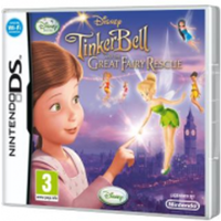 Fairies TinkerBell And The Great Fairy Rescue Game
