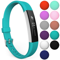 Yousave Activity Tracker Single Strap - Cyan (Large)